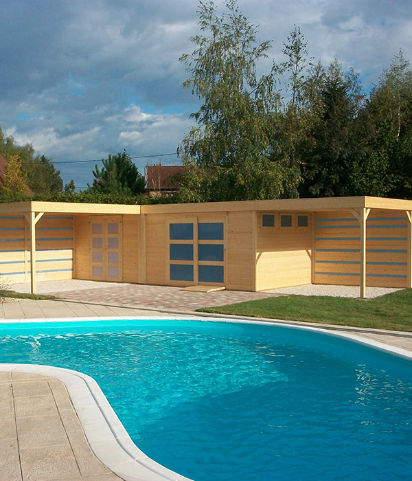 Aménagement Pool House