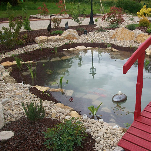 Aménagement d'un bassin