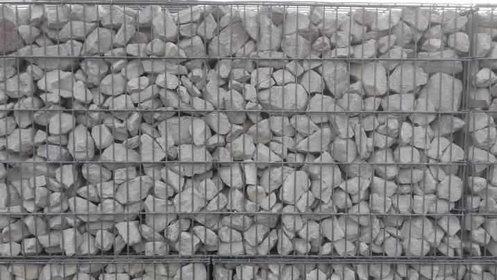 Mur de gabions